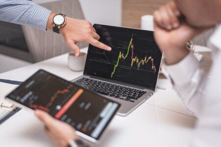 analysing price trend on broker platform